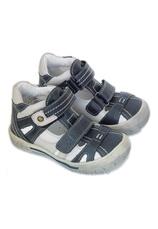 Sandalete piele Sunway Bleumarin