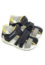 Sandale piele Hokide Gri