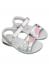 Sandale piele Hokide Alb