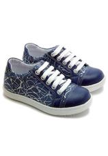 Hokide® Pantofi sport piele Albastru