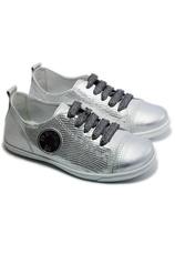 PJ® Pantofi sport Tag piele Argintiu 21030