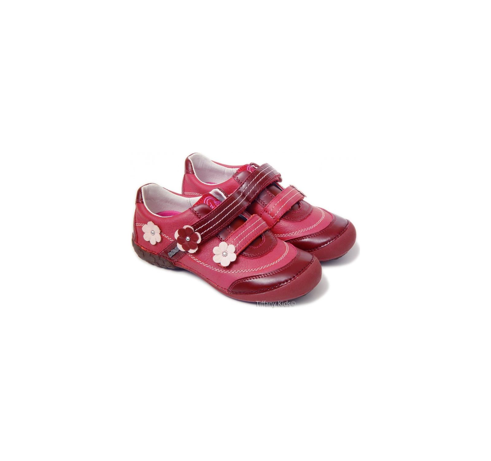 D.D.Step® Pantofi piele Bordo